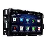 2021 Newest Double Din Car Stereo, Eonon 8 Inch Android 10 Car Radio Compatible with Chevrolet/GMC/Buick, GPS Navigation Radio Support Split Screen/Built-in Apple Carplay/DSP-GA9480B
