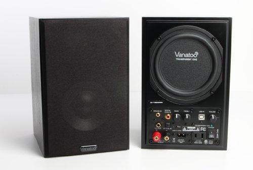 Vanatoo Transparent One Powered Speaker - Black