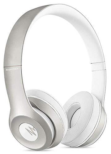 Magnussen Audio H2 Bluetooth koptelefoon 4.1, inklapbaar, verstelbaar, zilverkleurig