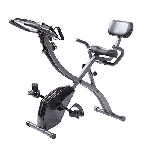 Mediashop Slim Cycle Heimtrainer, Liegefahrrad und Oberkörper-Trainer | zusammenklappbar | Radfahren und Ruderbewegung für effektives Kardio- & Krafttraining | Das Original aus dem TV