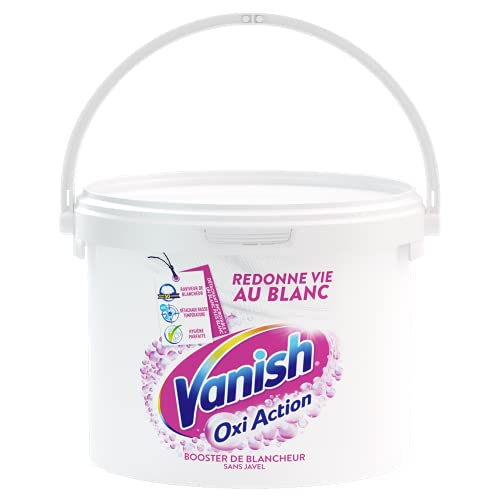 Vanish Oxi Action Booster de Blancheur - Détachant Textile & Raviveur de Blancheur - Poudre 2.250kg