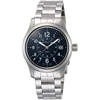 Hamilton Khaki Field Stainless Steel Analog Quartz Men's Watch (H68201143)