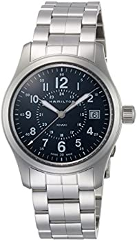 Hamilton Khaki Field Stainless Steel Analog Quartz Men's Watch