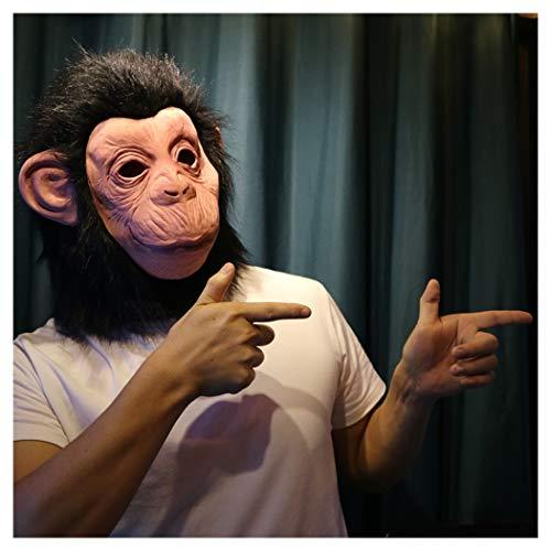 LLF Halloween Gorilla Masker, Party Role Spelend Hoofddeksel, Latex Materiaal