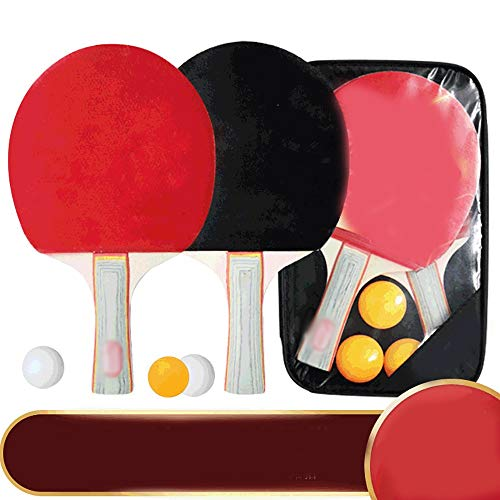 For Sale! SDAKVDNS Table Tennis Set, Suitable for Multiplayer Entertainment, Two Shots and Three Bal...
