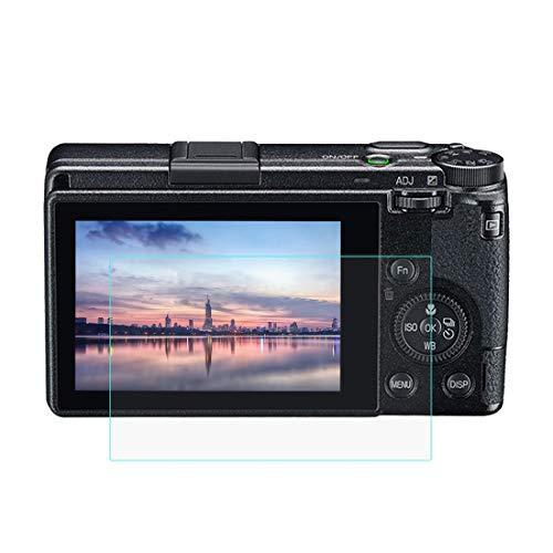 Gehärtetem Glas Displayschutzfolie für Ricoh GR III, 0,3 mm ultraklare LCD-Schutzfolien mit 9H Härte, Anti-scrach, Blasenfreie, Anti Fingerprint(GR III)