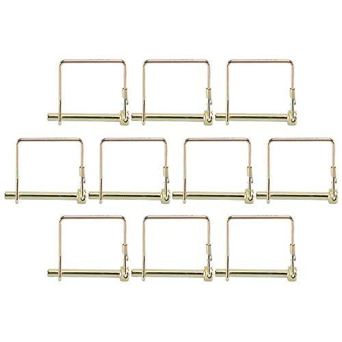 1//4 x 2-1//4 YaeTool 10 PCS Square Shaft Locking Pin
