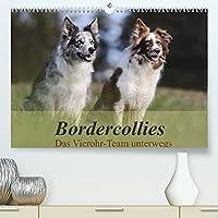 Bordercollies - Das Vierohr-Team unterwegs (Premium, hochwertiger DIN A2 Wandkalender 2022, Kunstdruck in Hochglanz): Vier Ohren hoeren besser als zwei - lustige Bordercollies in der Natur (Monatskalender, 14 Seiten )