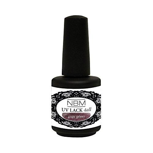 NBM UV Lack 4 all grape galaxy, 14 g