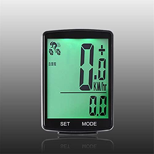 Tbaobei-Baby Ciclocomputador LCD multifuncional con pantalla LCD para bicicleta, impermeable, cuentakilómetros, cuentakilómetros, 2,8 pulgadas, para grabación de tiempo
