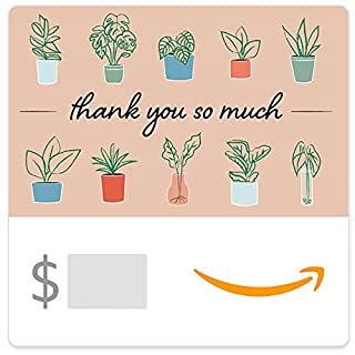 Amazon eGift Card - Thank You So Much (Plants) (B09BQVBQZ8) | Amazon price tracker / tracking, Amazon price history charts, Amazon price watches, Amazon price drop alerts