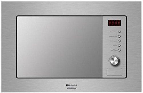 Hotpoint Mwa 121.1 X/HA Forno microonde, 1200 W, 20 Litri, Metallo, Argento