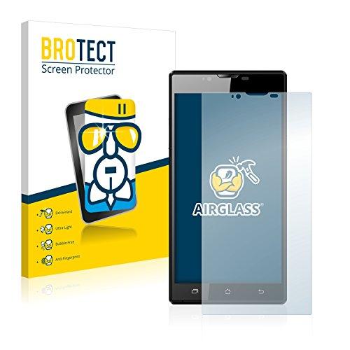 BROTECT Panzerglas Schutzfolie kompatibel mit Archos 55 Platinum - AirGlass, extrem Kratzfest, Anti-Fingerprint, Ultra-transparent
