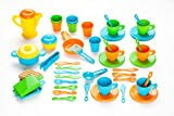 MOLTO | Set de 45 Accesorios para Cocinita de Juguete | Juguetes Educativos para Niños | A Partir de 3 Años | Hecho en España