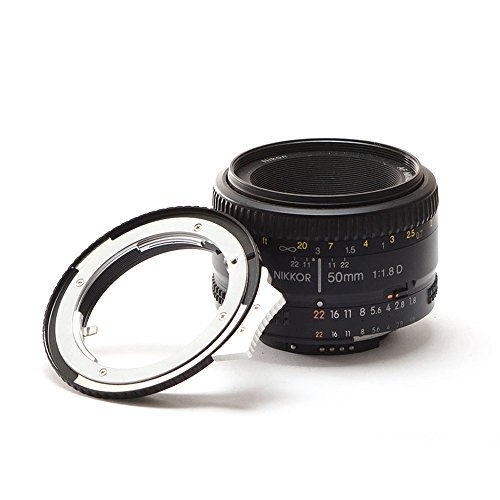 Light Blaster Kit, Nikon F Mount to Canon EF Mount Lens Adapter