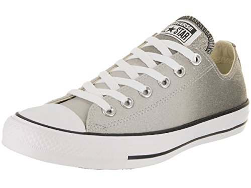Converse Chuck Taylor Ctas Ox Synthetic, Scarpe da Fitness Unisex-Adulto, Grigio (Ash Grey/Black/White 095), 44 EU