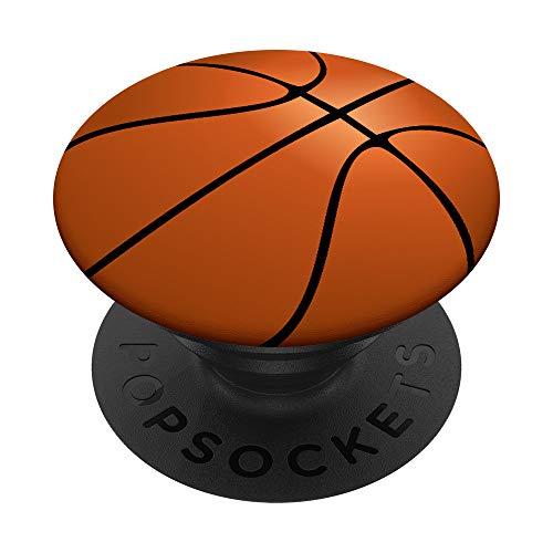 Basketball PopSockets PopGrip: Ausziehbarer Sockel und Griff für Handys/Tablets mit Tauschbarem Top