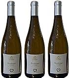 Vin blanc d'Anjou demi-sec'la Tendresse' en lot de 3 bouteilles de 75 cl.