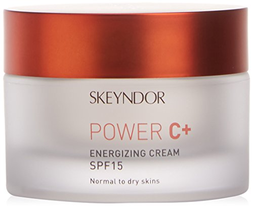 Skeyndor - Power C+ Crema Energizante SPF15 Piel Normal a Seca, 50 ml