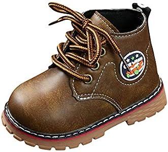 Botas Niño Invierno Memefood Botas de Chicos Chicas Sneaker Patucos Zapatillas Calientes de Bebé niños niñas Botitas y Patucos para niños