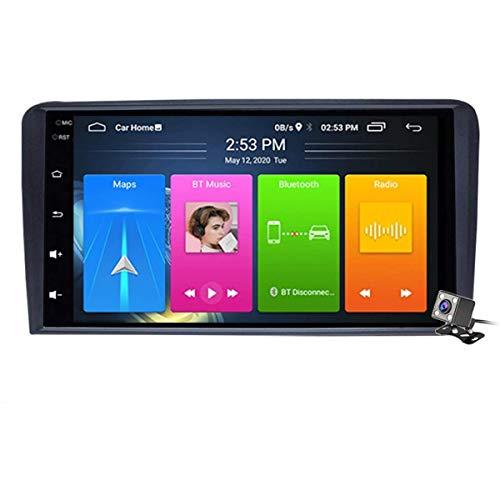 XBRMMM Pantalla Táctil 9 Pulgadas 2 DIN Android 9.1 Estéreo para Automóvil para Audi A3 S3 RS3 2003-2012 Radio con Navegación GPS DSP Integrado FM RDS Soporte Bluetooth/SWC/MirrorLink