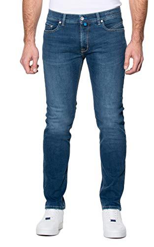 Pierre Cardin Herren Lyon Futureflex Strech Denim Tapered Fit Jeans, Blau (blau 64), W36/L34 (Herstellergröße:3634)
