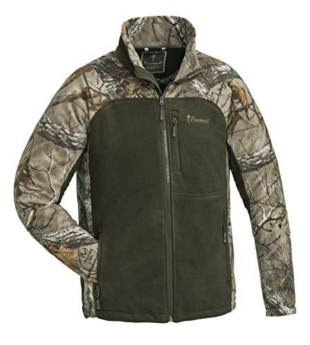 Pinewood Herren Oviken Fleecejacke Jacke, Realtree Xtra/Hunting Green, XL