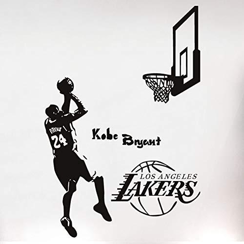 Kobe Bryant Wandaufkleber Basketball Player Aufkleber Jungen Schlafzimmer Home Decor-in