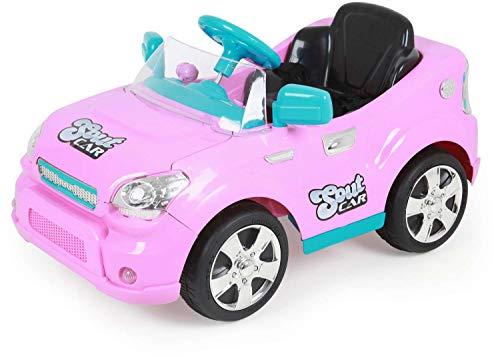 Carro Eletrico Soult Car com RC Xplast Rosa