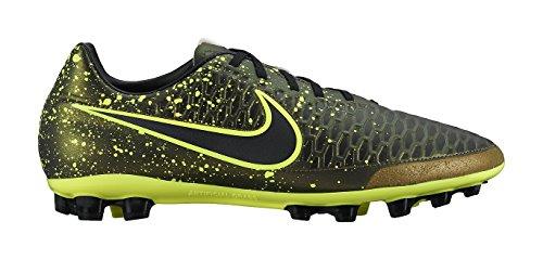 Nike Magista Onda AG-R, Botas de fútbol para Hombre, Negro/Amarillo (Dark Citron/Drk Citron-Blk-Vlt), 42 EU