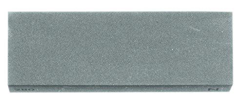 Herbertz messen-accessoires silicium-carbide slijpsteen 20 x 5 cm fijne korrel lengte: 20.0cm, grijs, M