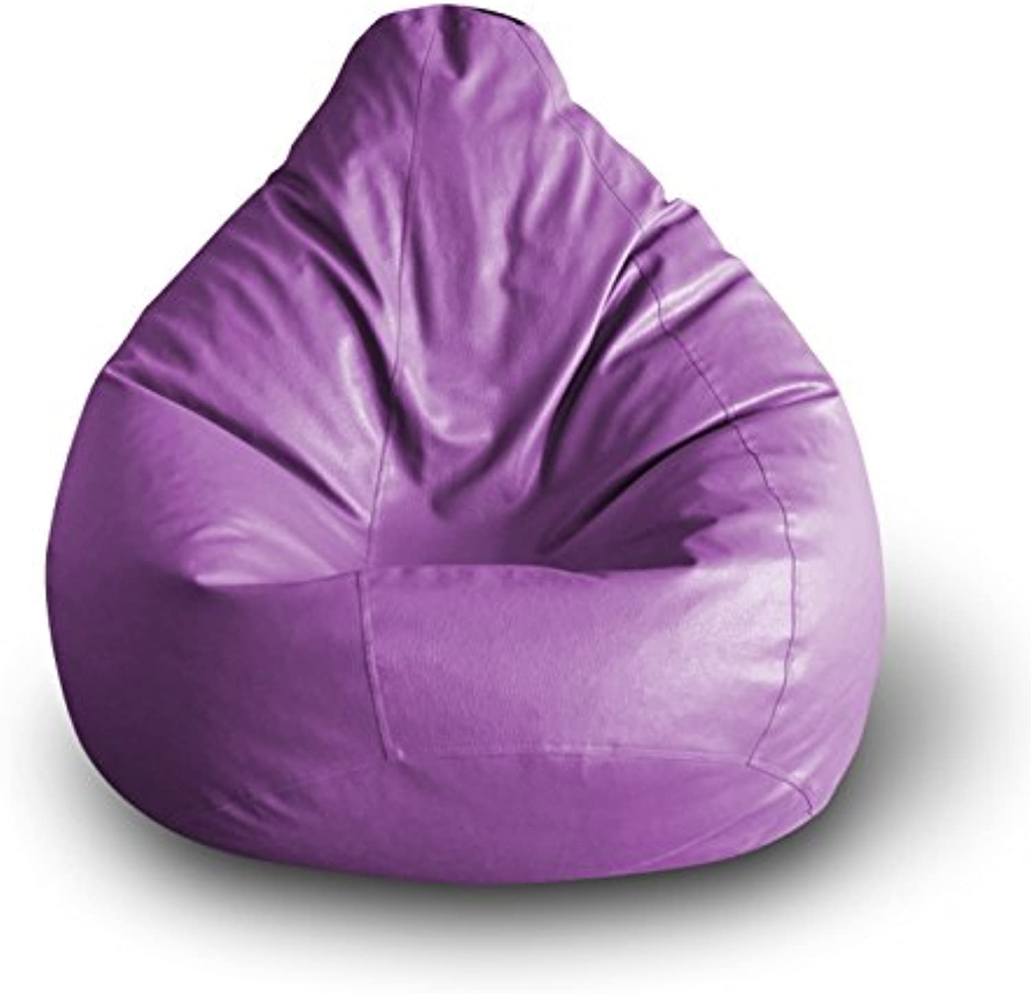 Style Homez Classic Bean Bag XXL Size Purple Cover Only
