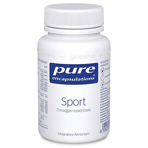 Pure Encapsulations - Sport - Varietà di Vitamine, Minerali e Oligoelementi - Per il Metabolismo Energetico - 30 Capsule