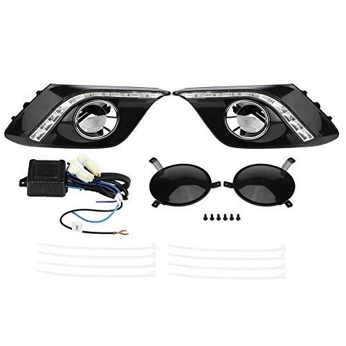 Broco 1 paar dagrijlichtafdekking voor LED-lampen DRL daylight mistlampen voor Mazda3 Axela 13-16