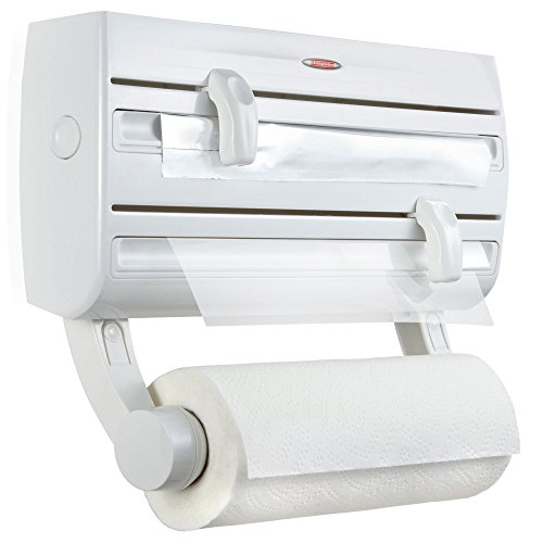 Leifheit Paper Towel Holder & Plastic Wrap & Foil Dispenser