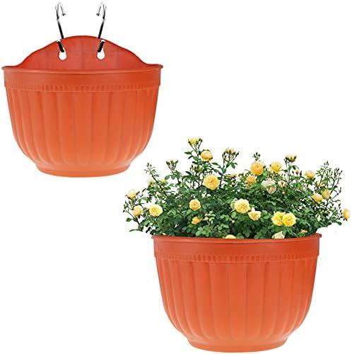Half round flower pots