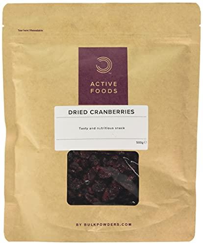 Bulk Getrocknete Cranberries, 500 g, Verpackung Kann Variieren