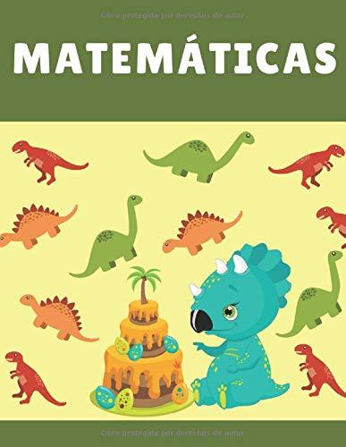 Matemáticas: Libreta Cuadriculada |Cuadro Grande Perfecto para Niños que Comienzan a Estudiar Matemáticas | Cuaderno 21,59 x 27,94 cm (8.5' x 11') 120 Hojas