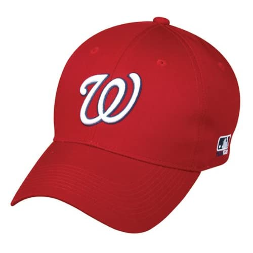 hot sale online eb804 de7aa Amazon.com   Washington Nationals YOUTH Cap Adjustable Replica MLB Official  Little League Baseball Softball Replica Hat   Sports Fan Baseball Caps    Sports ...