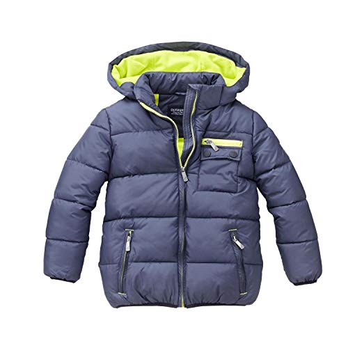 Outburst - Jungen Anorak Winterjacke Kapuze, blau - 3945413, Größe 98