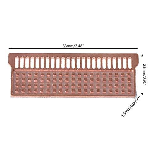 kdjsic Dissipatore di Calore per Notebook Dissipatore di Calore in Rame Dissipatore di Calore Ultrasottile per Laptop DDR1 DDR2 DDR3 DDR4
