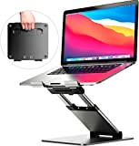 Ergonomic Laptop stand for desk, Adjustable height up to 20