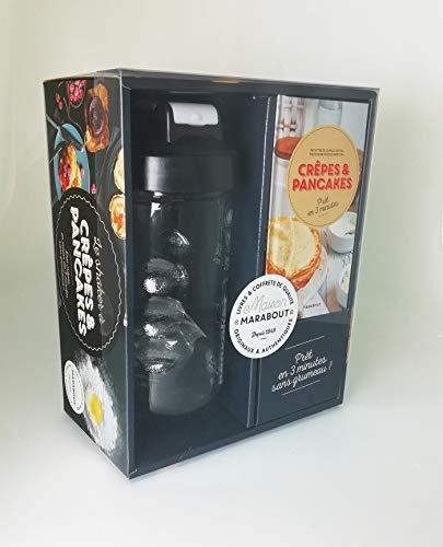 Coffret Le shaker à crêpes: Coffret avec 1 shaker à crêpes et pancakes et 1 boule en fil inox (Cuisine)