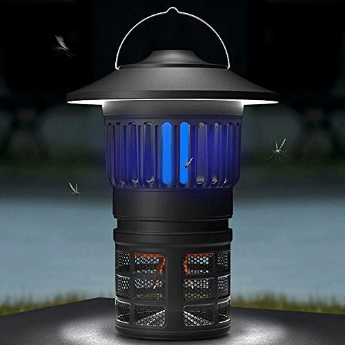 Bug Zapper Lampada UV Lampada UV, 2 in 1 Mosquito Killer Camping Lantern Impermeabile Insetti Portatile Repellente per All'Aperto, Ambientazione Interna, Casa E Viaggi