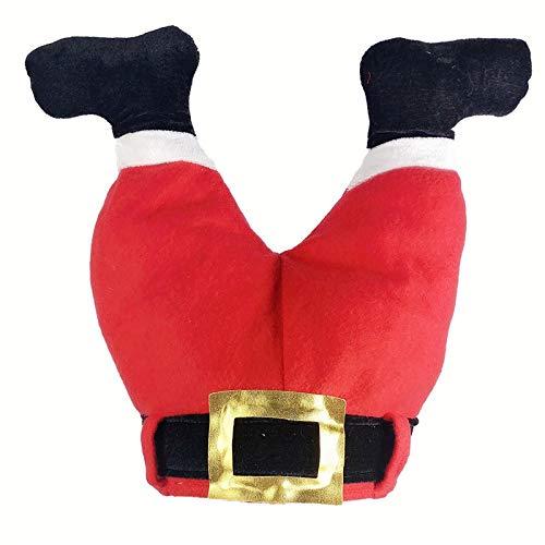 ghn Chapeau d'hiver tricoté pour femme 2020 en peluche - Chapeau de Père Noël - Décoration de Noël - Chapeau de dinde pour le Nouvel An - Chapeau tendance pour couple - Couleur : 7