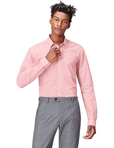 Camisa rosa palo hombre