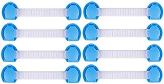 8 Pieces Child Baby Toddler Infant Safety Lock for Drawers, Fridges, Cabinets etc