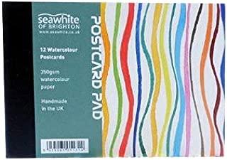 Seawhite 350gsm Watercolour Postcard Pad - A6 (4.1x5.8