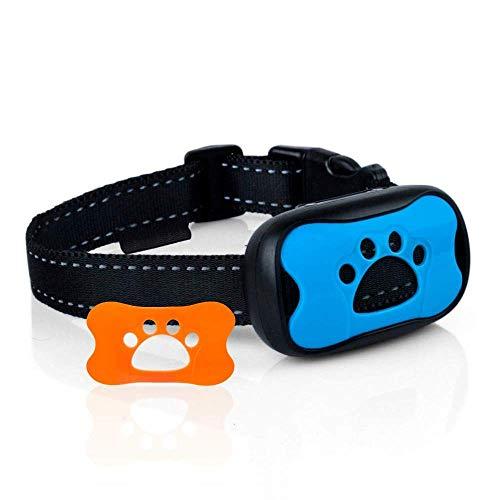 Sunnysam Stop Dogs Bellen Schnelle sichere Anti-Barking-Geräte Trainingskontrollhalsbänder Klein Mittel