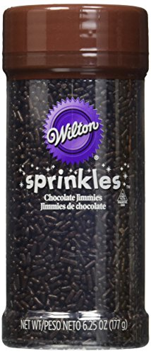 Wilton 710-168 Chocolate Jimmies Food Decorative, 6.25-Ounce